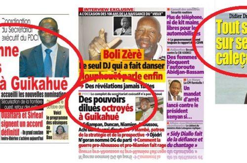 Article : Côte D'Ivoire : Les titres des journaux , un casse-tête pour les populations