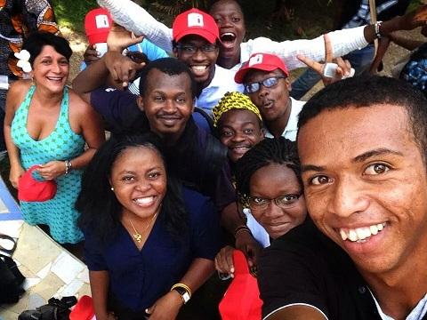 Mondoblog Abidjan 2014 Selfie