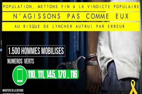 Article : Abidjan : Face aux enlèvements d'enfants la rue se fait justice